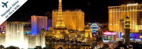 Pacote Las Vegas. Passagem aérea de ida e volta. Escolha o tipo de apartamento e acomodação. A partir de R$ 1.090,00