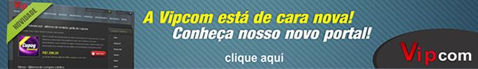 Novo site da Vipcom recheado de novos sistemas de compra coletiva, classificados, loja virtual e muito mais...