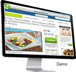 Clique para ver a demonstração do sistema de compra coletiva vipcom