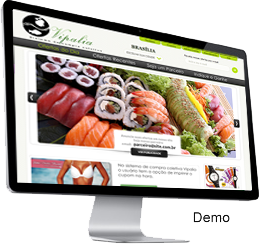 Clique para ver a demonstração do sistema de compra coletiva Vipalia