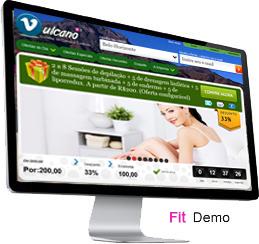Clique para ver a demonstração do sistema de compra coletiva Vulcano Fit