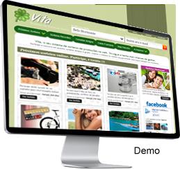 Clique para ver a demonstração do Vita - Sistema de sorteios online grátis