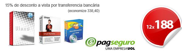 Viena - Sistema de compra coletiva + sistema de atendimento online e sistema de email marketing